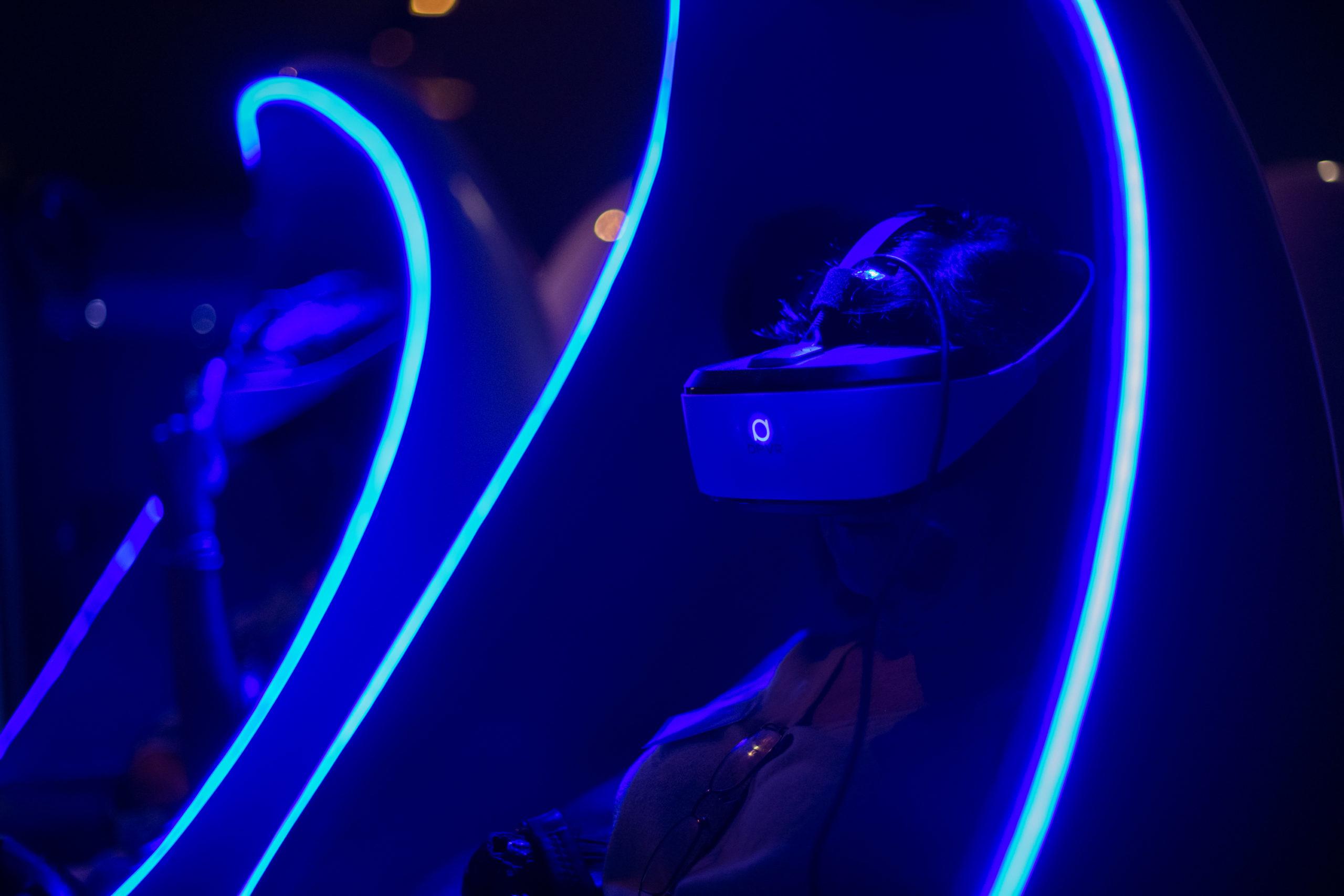 VR Booths at Shedd Aquarium event